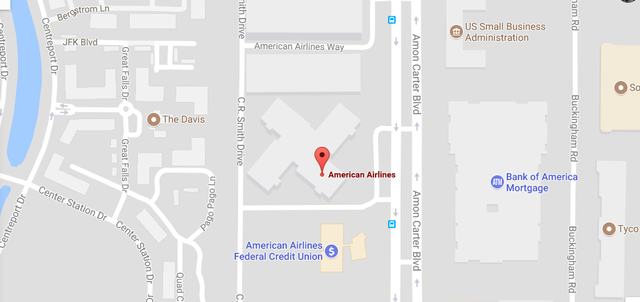 American Airlines Location