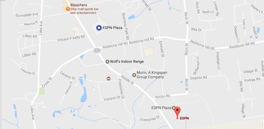 ESPN Location