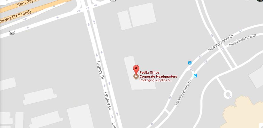 FedEx customer-service-location