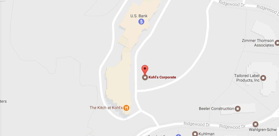 Kohl's Location