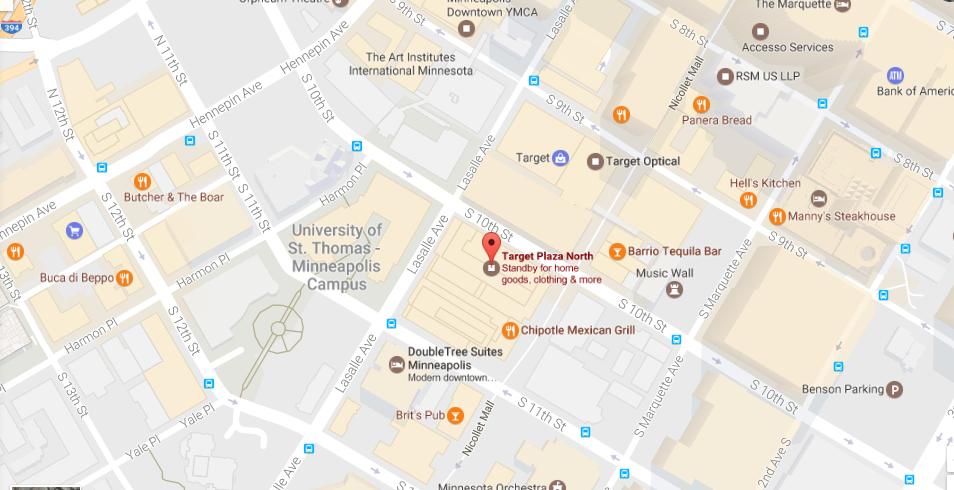 Target location