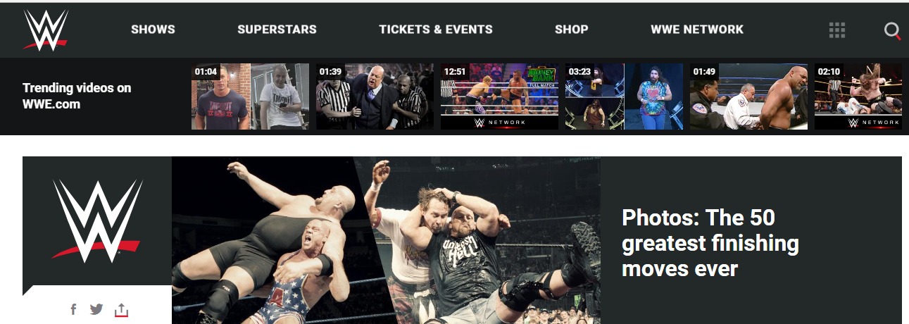 WWE headquarter location and customer service 1