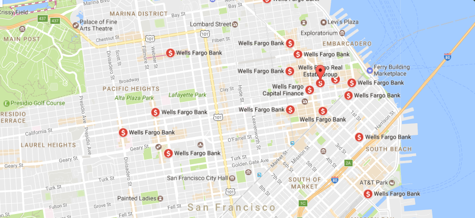 wells fargo locations
