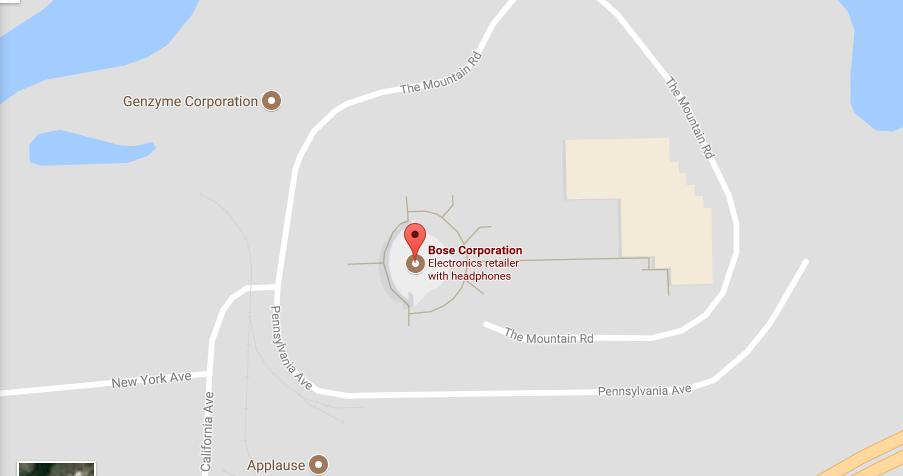 Bose Location