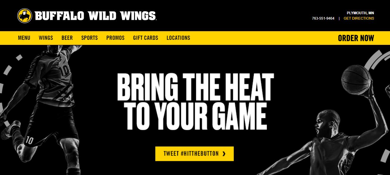 Buffalo Wild Wings headquarters corporate office address
