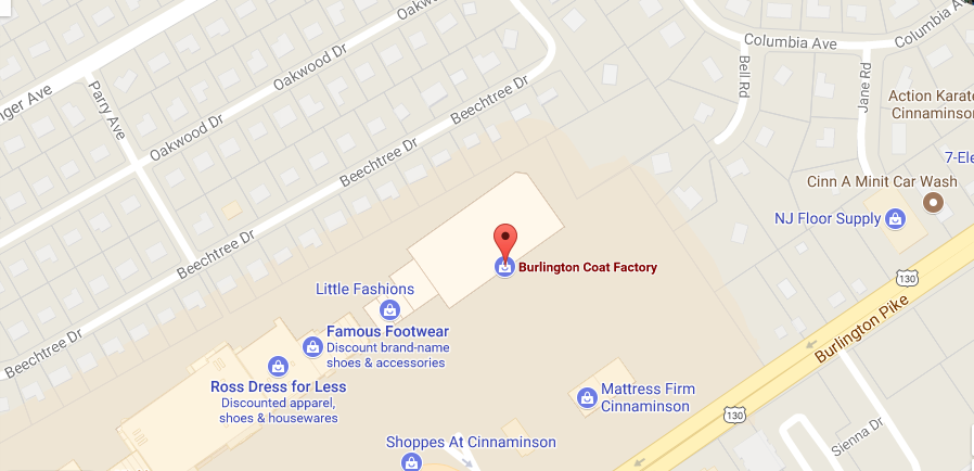 Burlington Coat Factory location