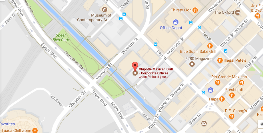 Chipotle Headquarters Address