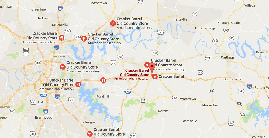 Cracker Barrel Headquarters Address