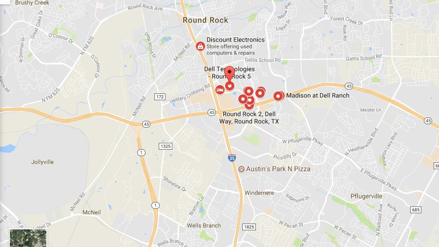 Dell headquarter location
