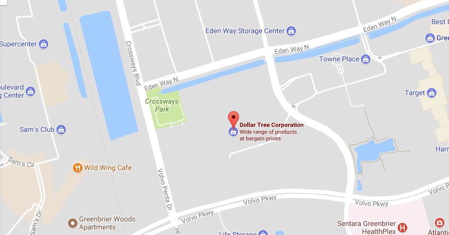 Dollar Tree headquarter location and customer service