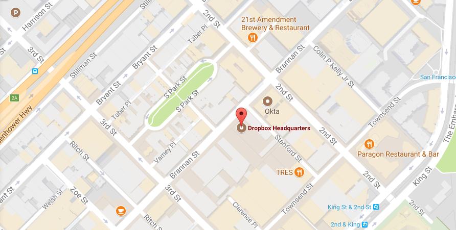 Dropbox Headquarters Location