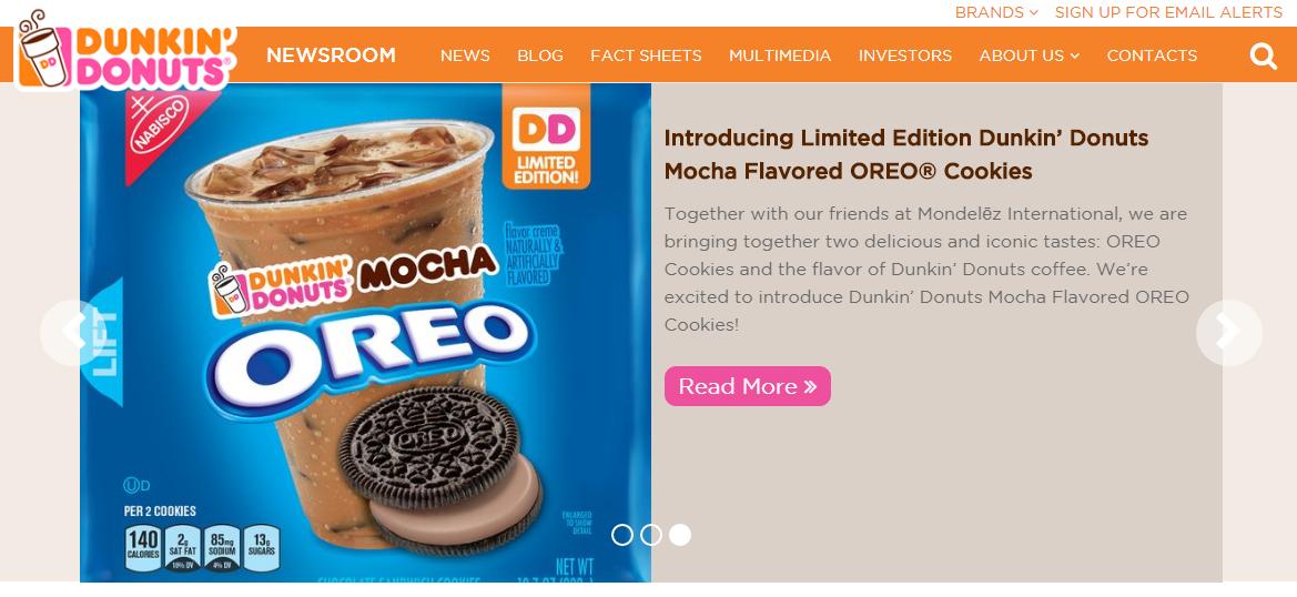 Dunkin Donuts headquarter corporate office address