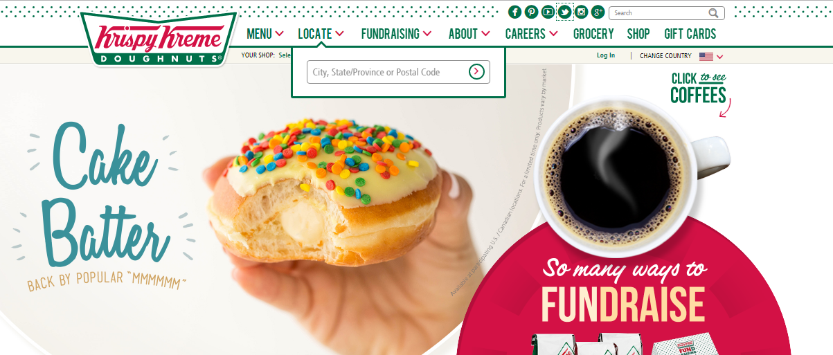 Krispy Kreme headquarters corporate office address