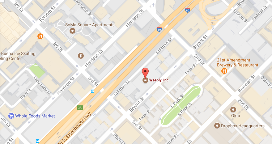 Weebly Location