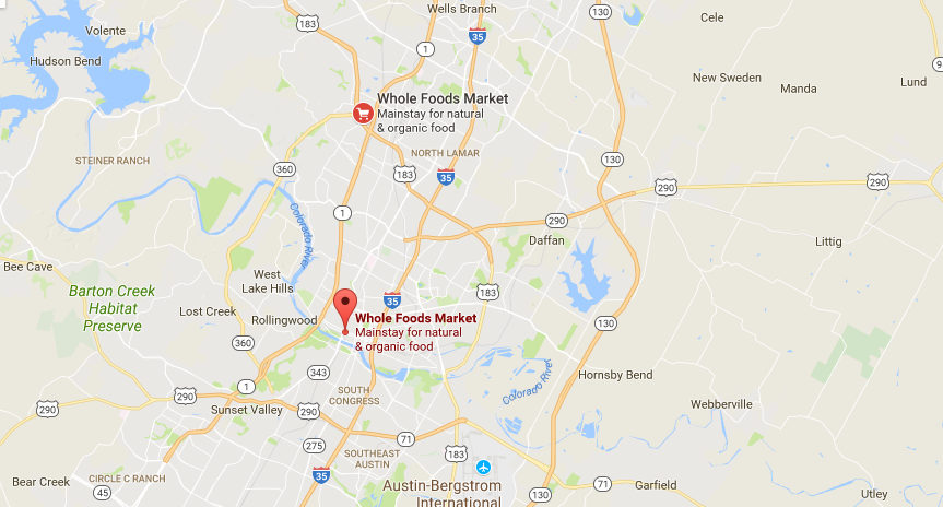 Whole Foods location