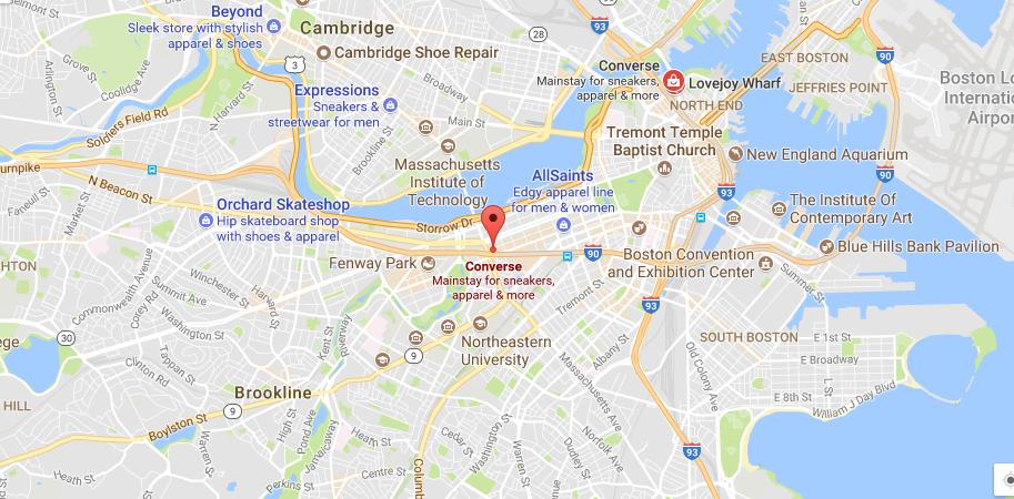 Converse Location