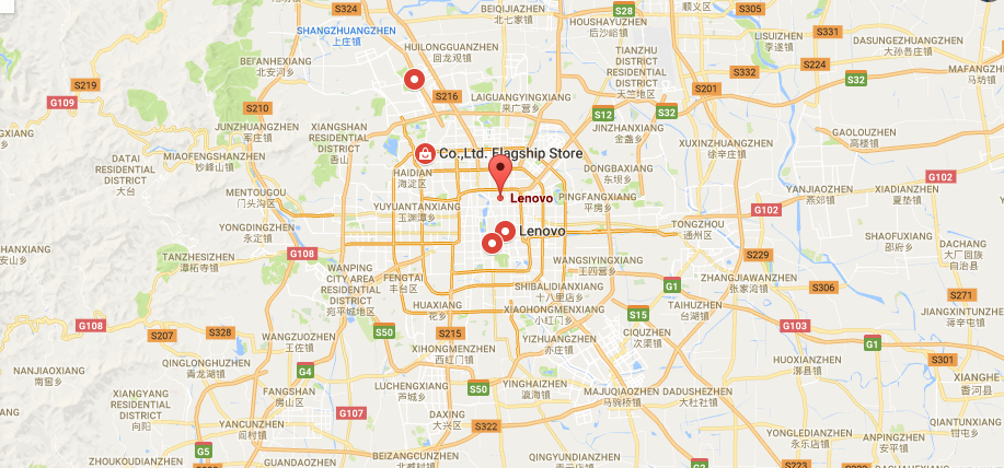 Lenovo location