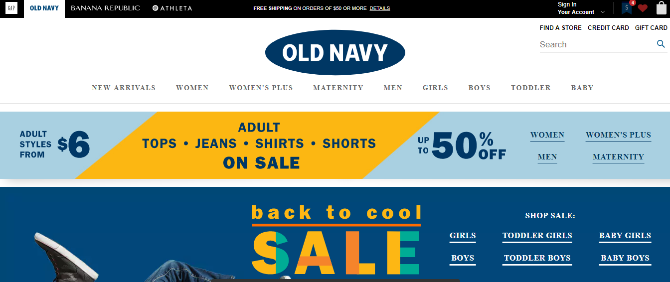 Old Navy headquarter corporate office address